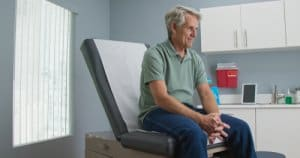 primary care patient waits for provider
