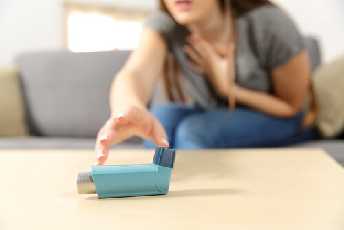asthma attack patient