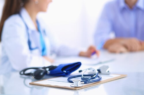 physician performs DOT physicals for commercial drivers