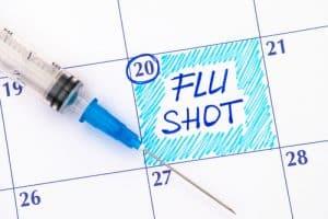 get a flu shot calendar reminder