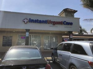 urgent care exterior front enterance