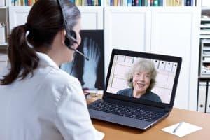 telemedicine visit for a patient at Instant Urgent Care